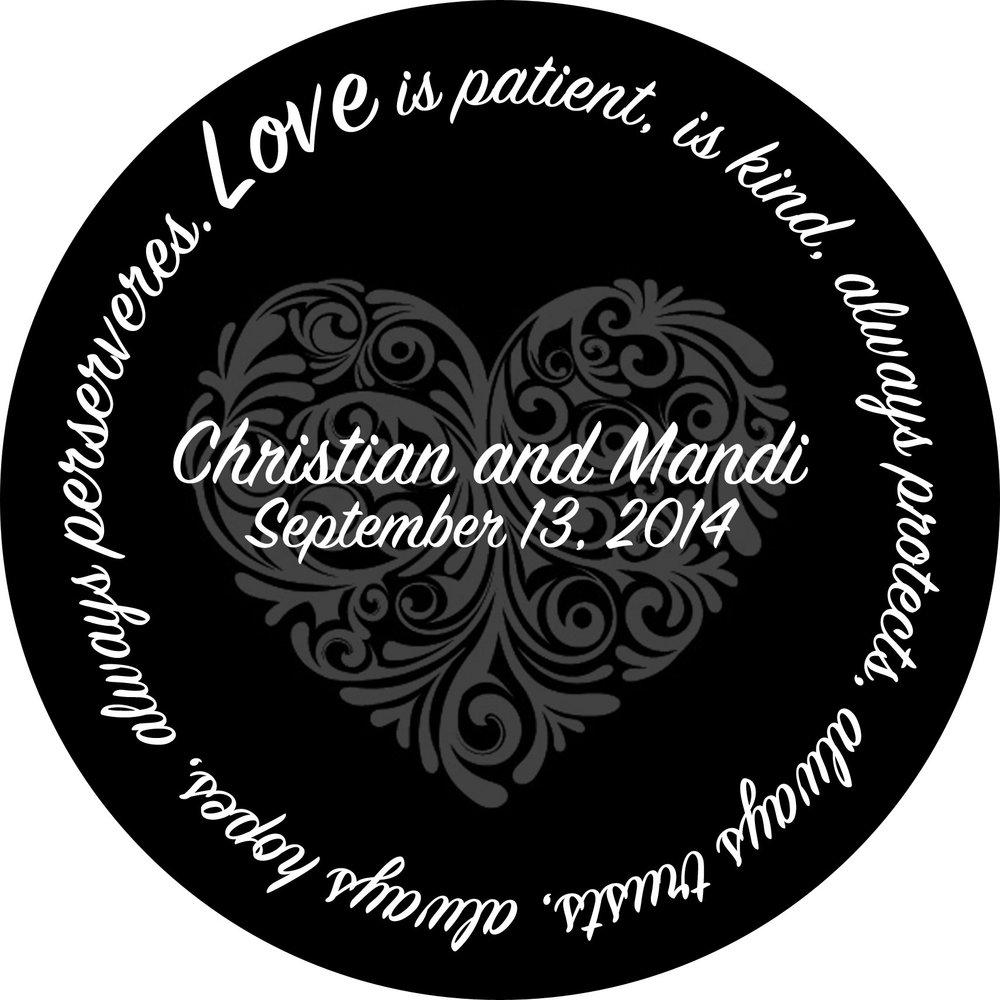 Wedding // Christian and Mandi // 24 Round // $85
