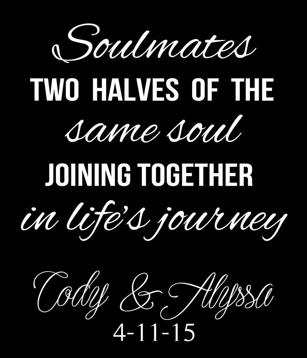 Wedding // Cody and Alyssa // 18x21 // $65