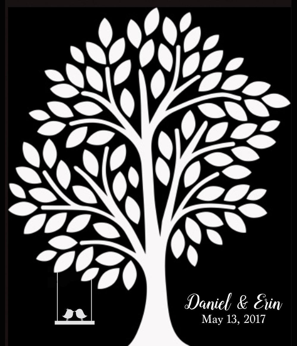 Wedding // Daniel and Erin // 18x21 // $65