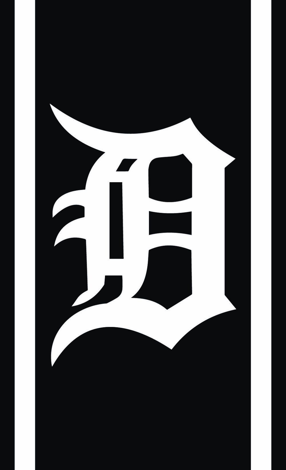 Sports // Detroit D Stripes // 14x23 // $65