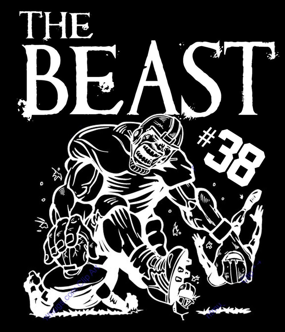 Sports // The Beast // 18x21 // $65