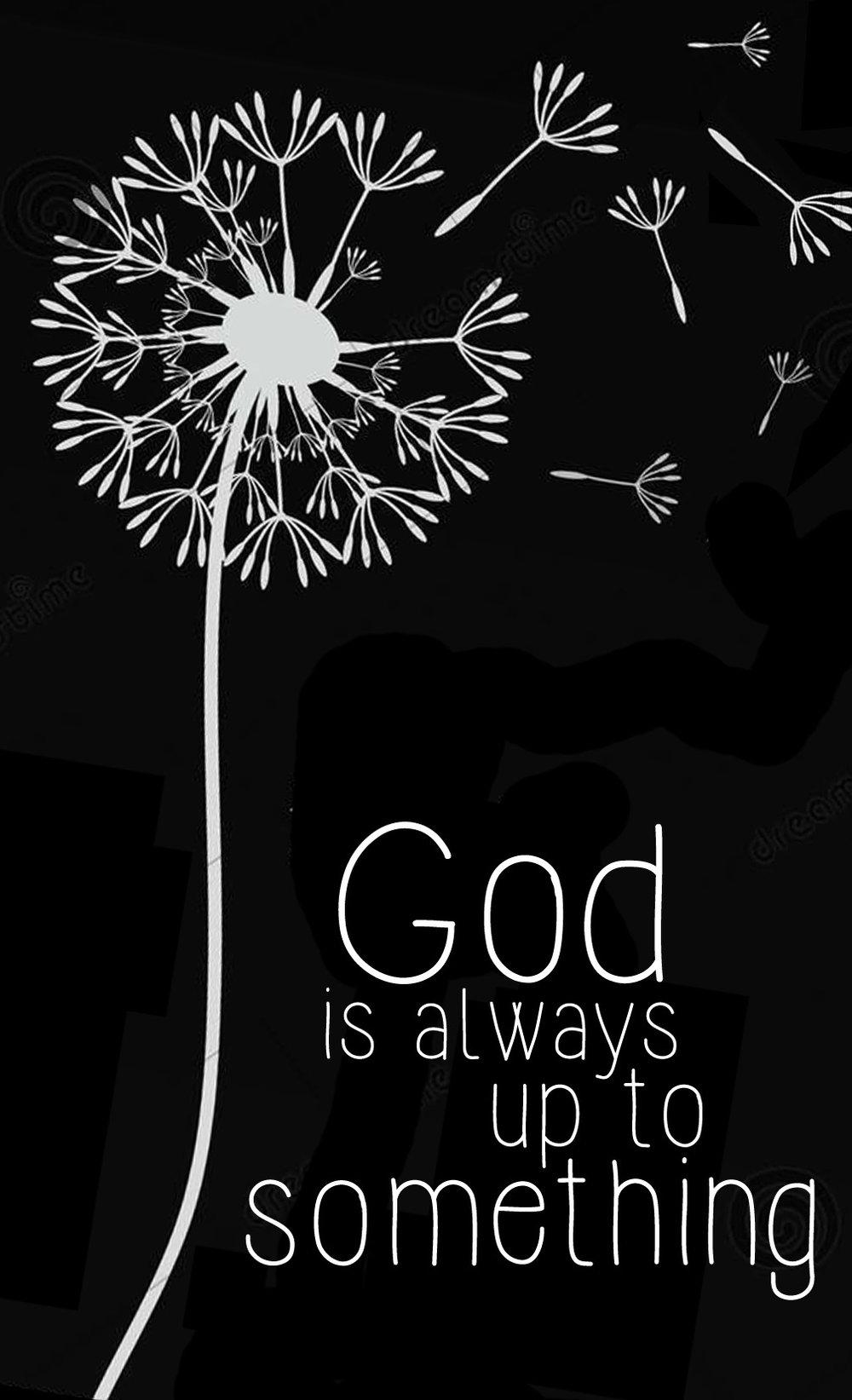 Spiritual // God is Up to Something // 14x23 // $65