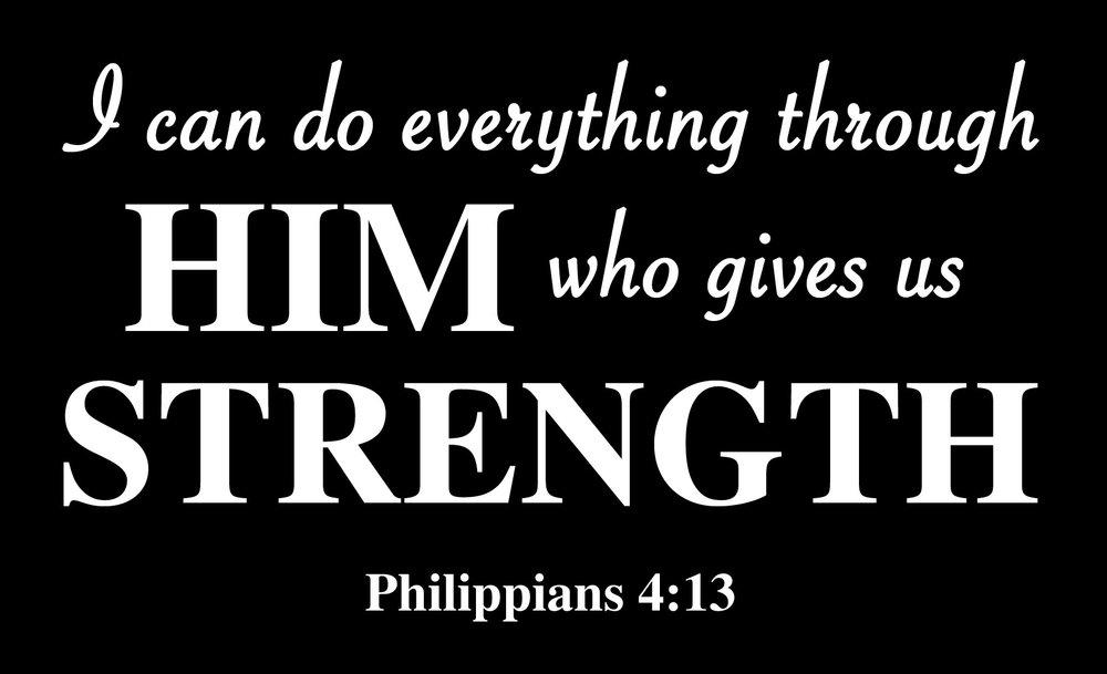 Spiritual // Philippians 4-13 // 14x23 // $65