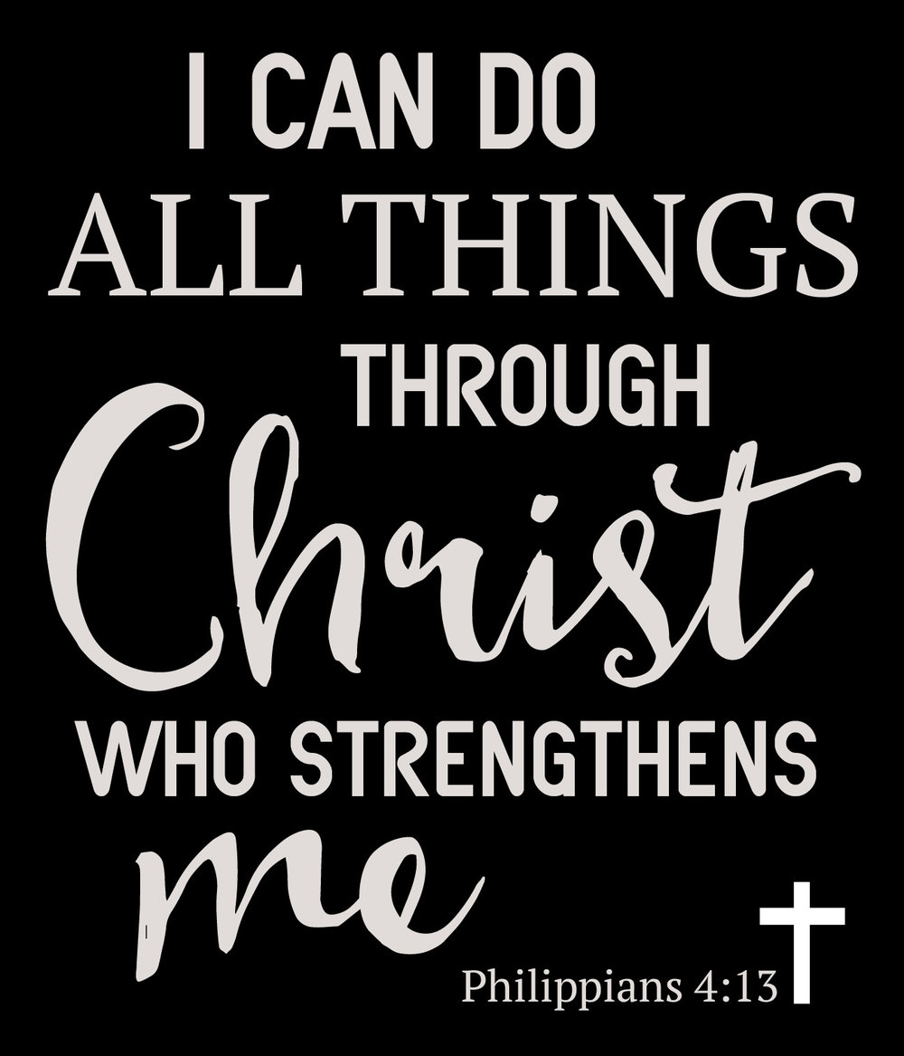 Spiritual // Philippians 4-13 // 18x21 // $65