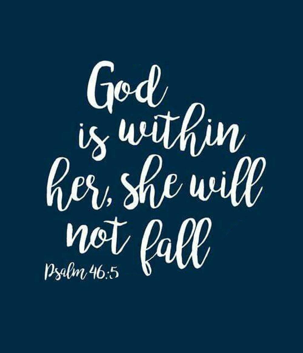Spiritual // Psalm 46-5 // 18x21 // $65