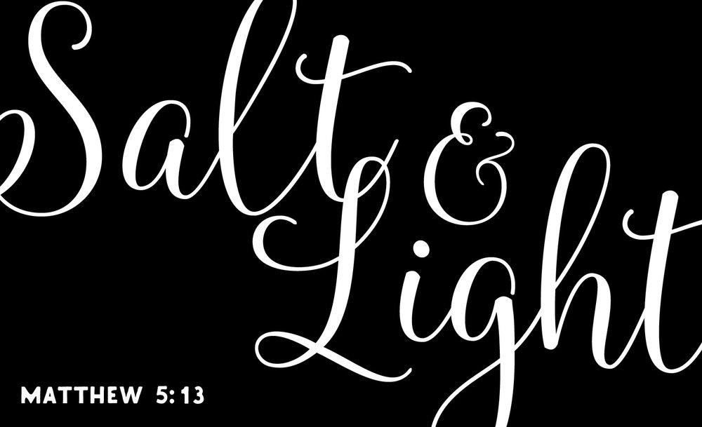 Spiritual // Salt and Light // 14x23 // $65