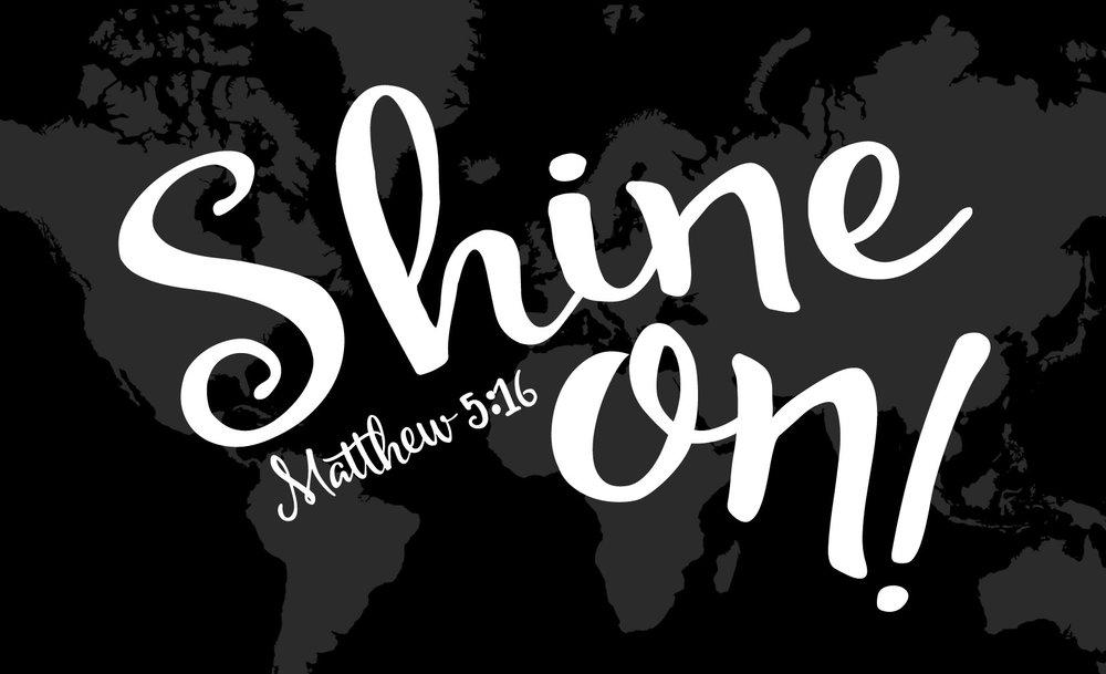 Spiritual // Shine On // 14x23 // $75