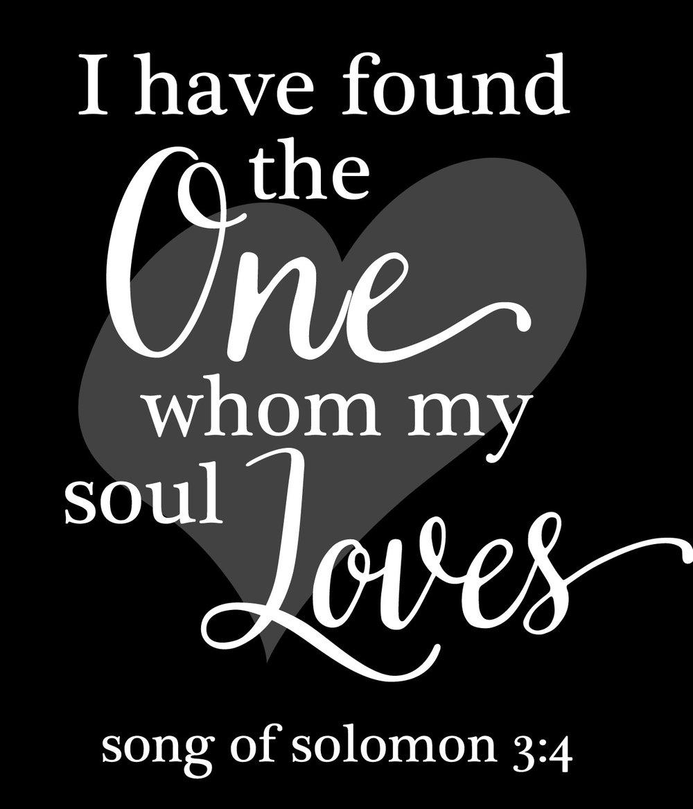 Spiritual // Song of Solomon 3-4 // 18x21 // $75