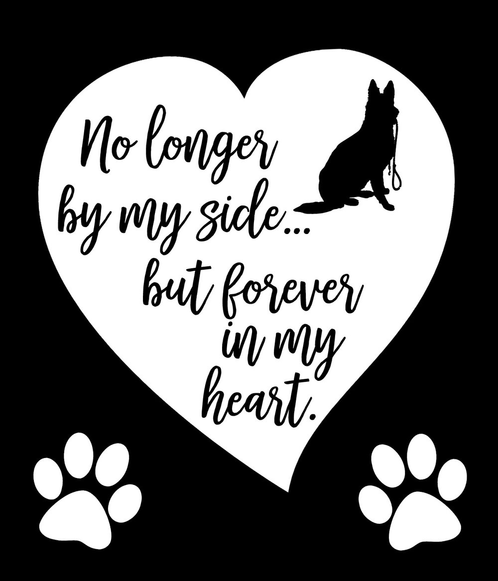 Pets // Forever in My Heart // 18x21 // $65