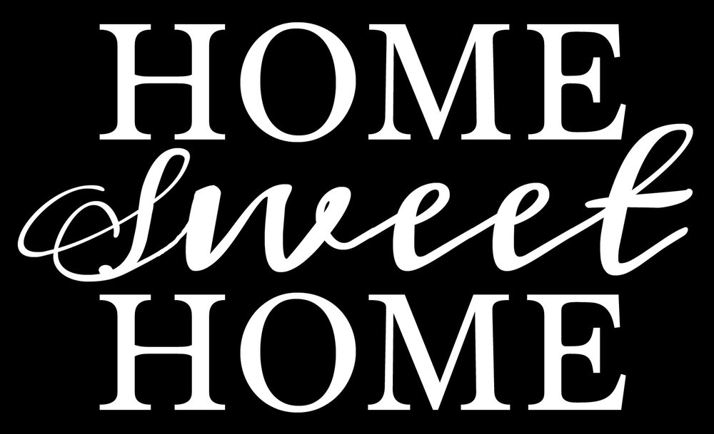 Home // Home Sweet Home No Wheat // 14x23 // $65