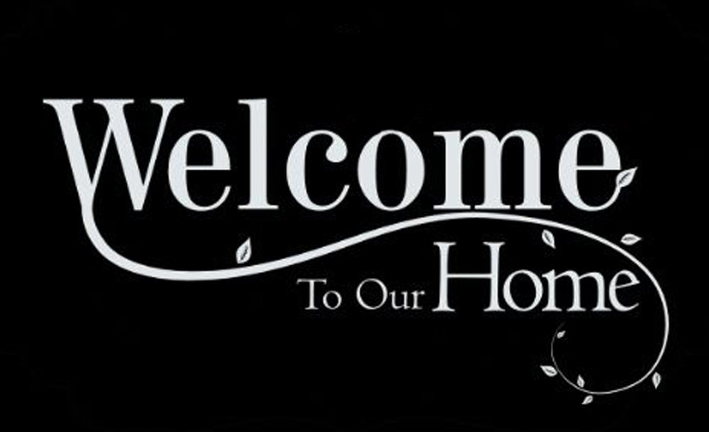 Home // Welcome to Our Home // 14x23 // $65