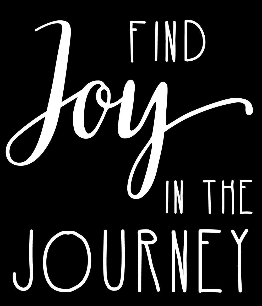 Inspiration // Joy in the Journey // 18x21 // $65