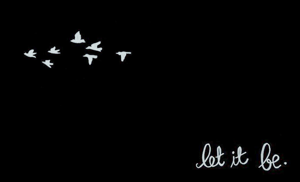 Inspiration // Let it Be // 14x23 // $65