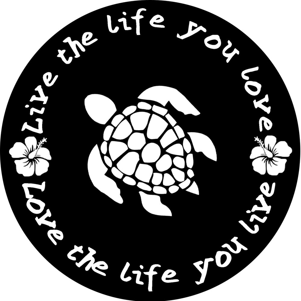"""Inspiration // Live the Life You Love // 24"""" Round // $85-$95"""