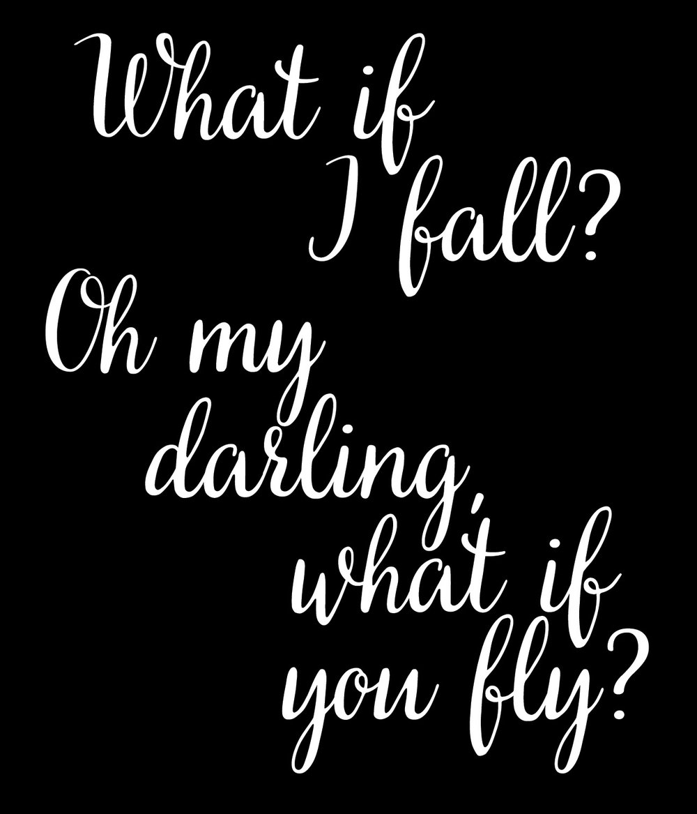 Inspiration // Oh Darling Fly // 18x21 // $65
