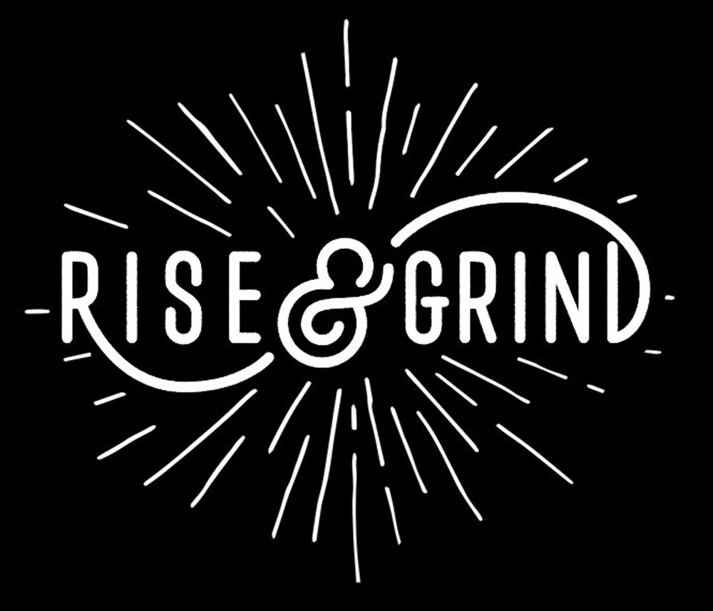 Inspiration // Rise and Grind // 18x21 // $65