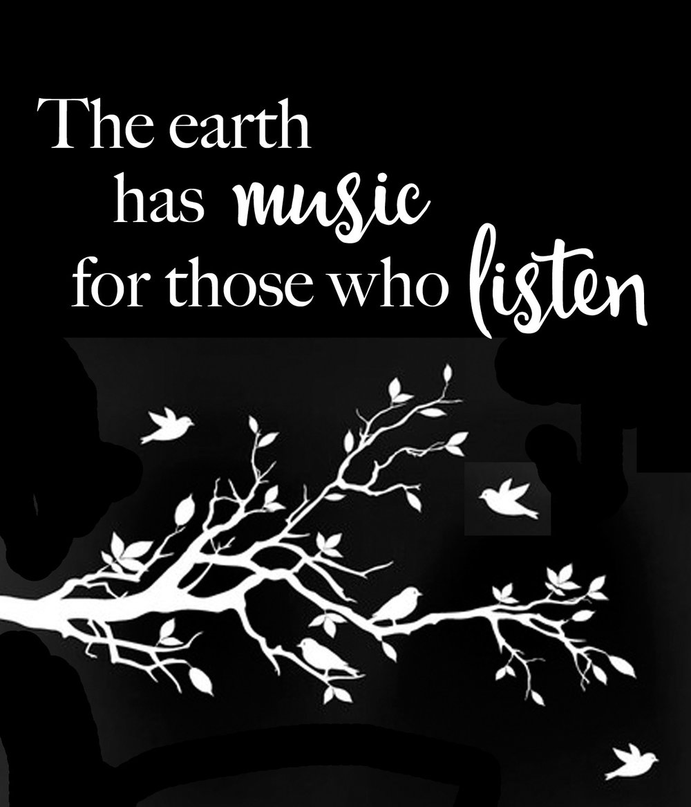 Inspiration // Those Who Listen // 18x21 // $65