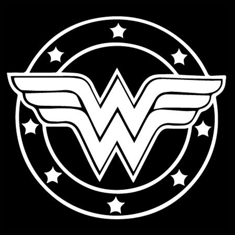 Super Heroes - Wonder Woman Logo