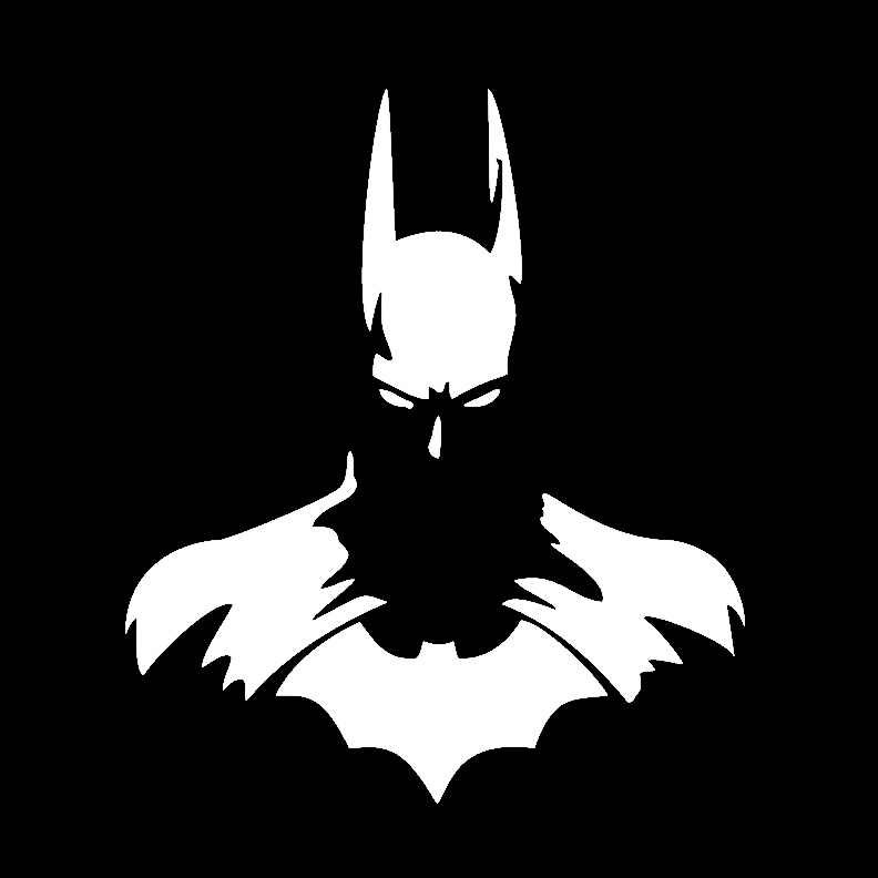 Super Heroes - Batman Silhouette