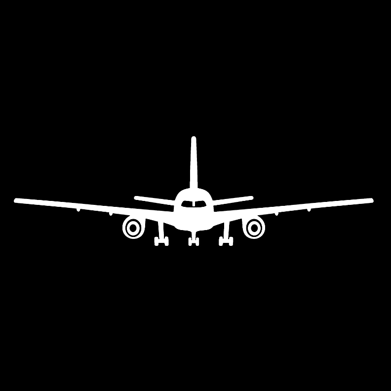 Vehicles - Commercial Plane Front