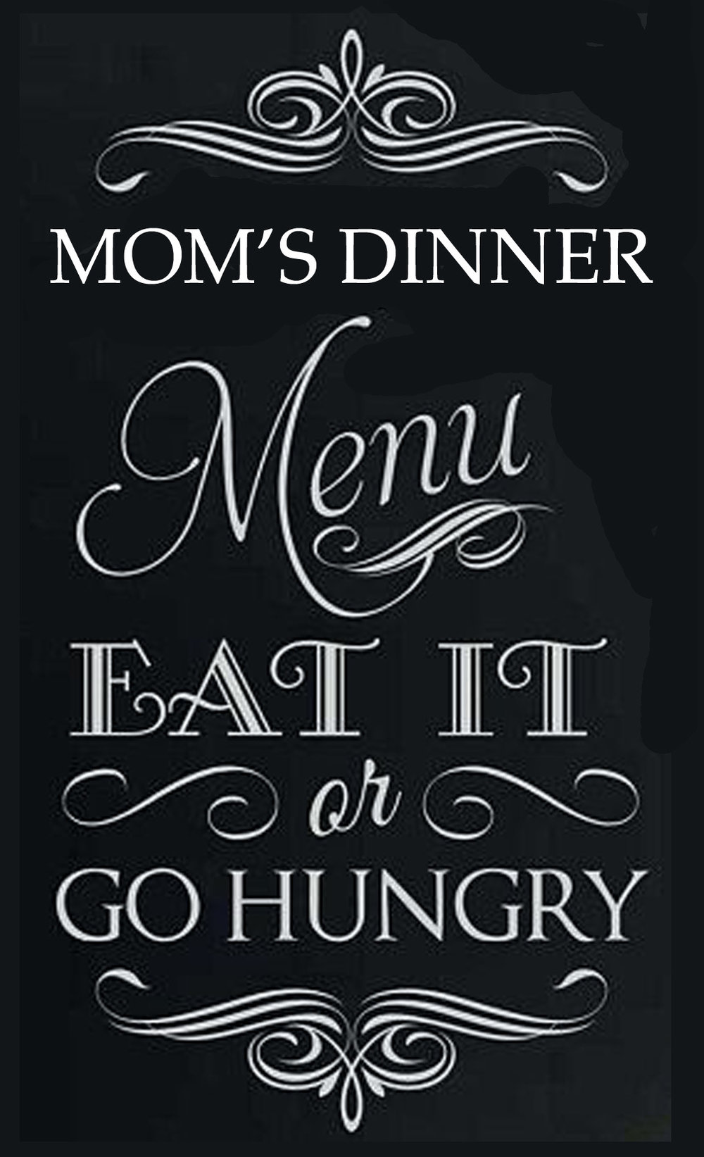 Copy of Culinary // Eat It or Go Hunger // 14x23 // $65