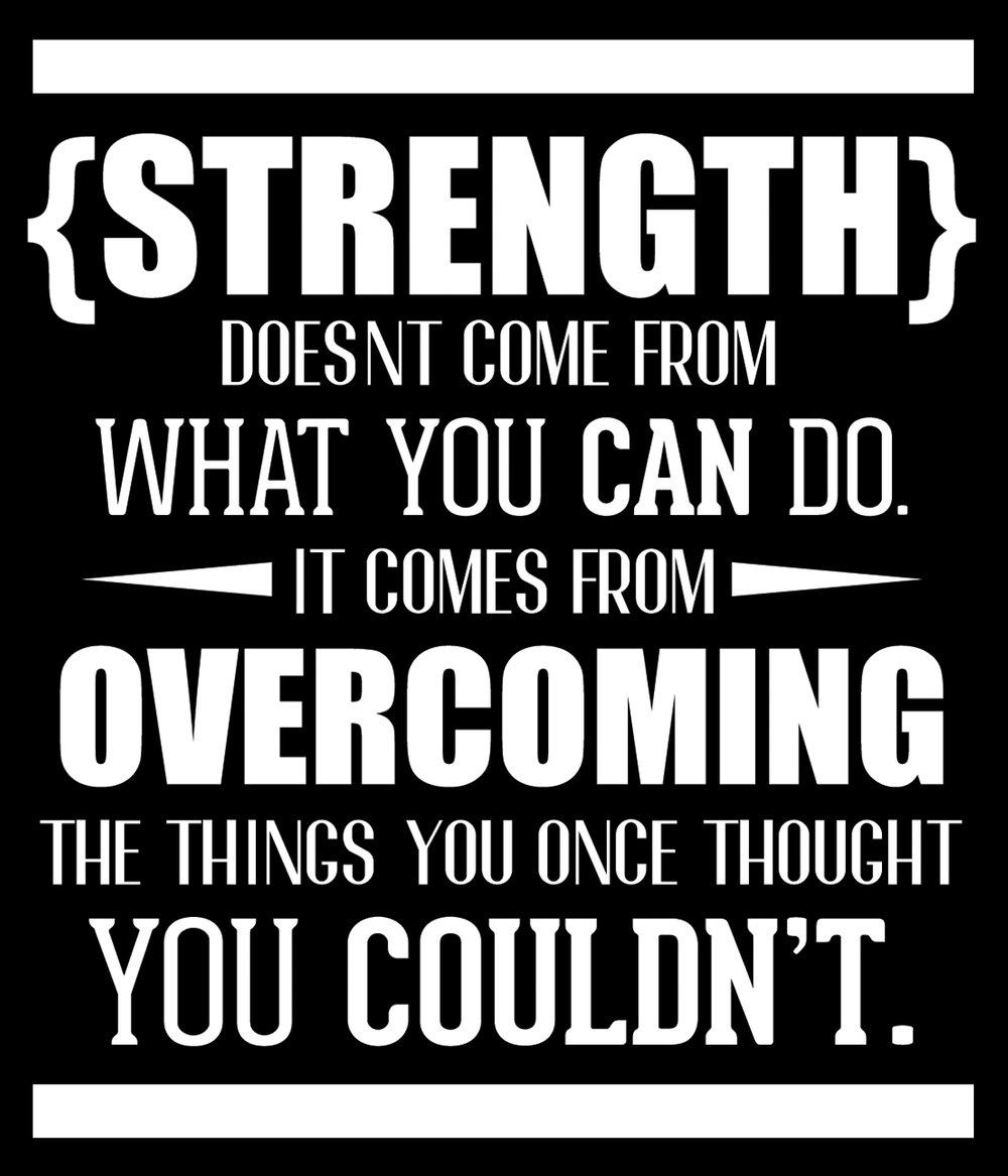 Inspiration // Strength // 18x21 // $65