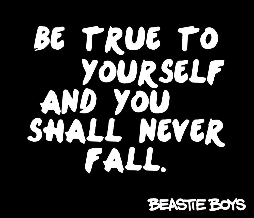 Inspiration // Beastie Boys // 18x21 // $65