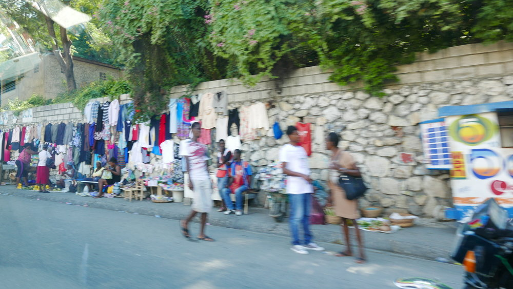 A blurry shot, but gives you the idea of the street markets.