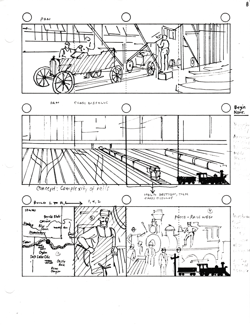 AT&T storyboards