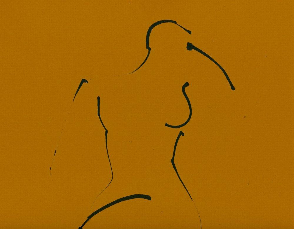 Charles Politz stick drawing