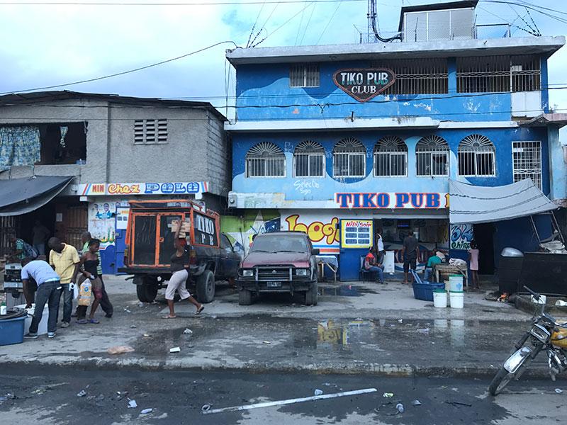 Streets of Port-au-Prince.