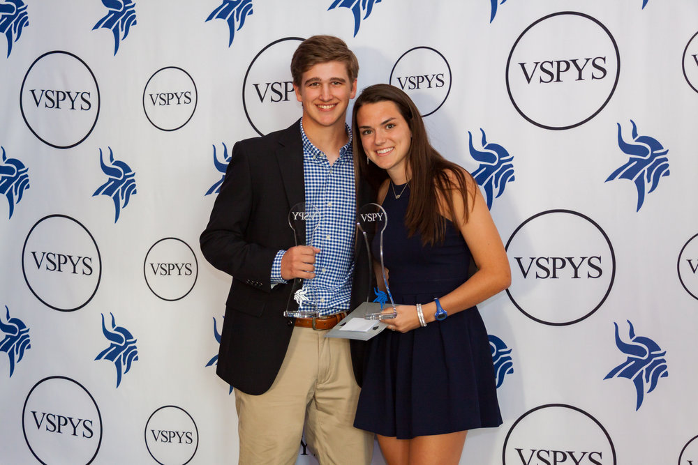 Grayson Hutka and Kate Kleiser | Scholar Athletes of the Year