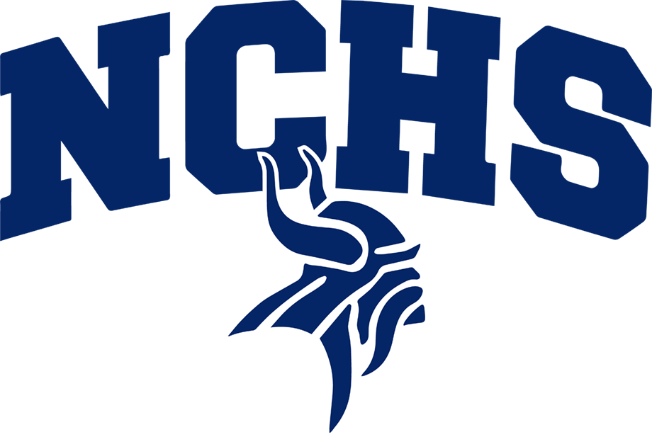 NCHS Combination Mark (Viking Blue Small).png