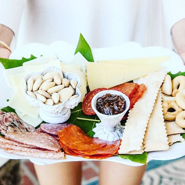 Dinner party delights 😍 #yummy #cheeseandcrackers #cheeseplate