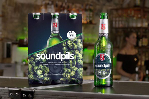 Beck's gets personal with its customers by using a sound box set up in Berlin allowing people to speak to the hops at the hop farm in Germany's Hallertau region. A special edition was brewed with the hops exposed to the sound, Beck's Soundpils.    Click for Video Ad