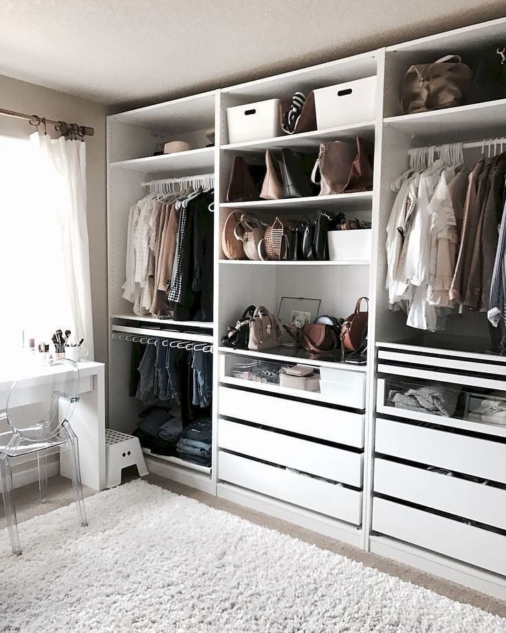 Closet pictured on my instagram @jzimmerstyle