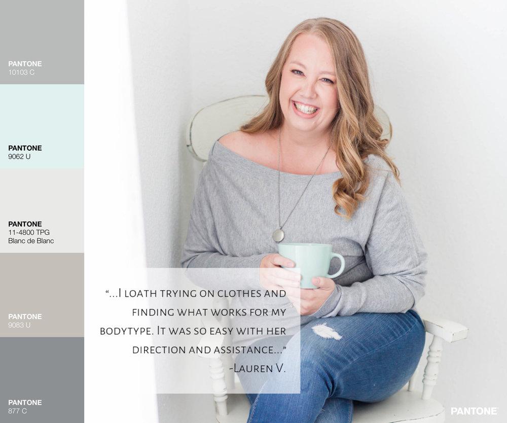 Pantone Lauren V Branding Shoot