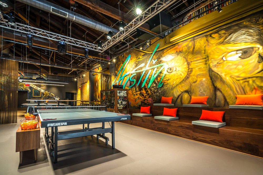 SPiN - Ping Pong Social Club, Bar & Restaurant in the heart of Downtown - 50-500 GUESTS
