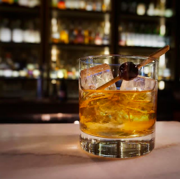 Seven Grand Austin Old Fashioned Cocktail Whiskey