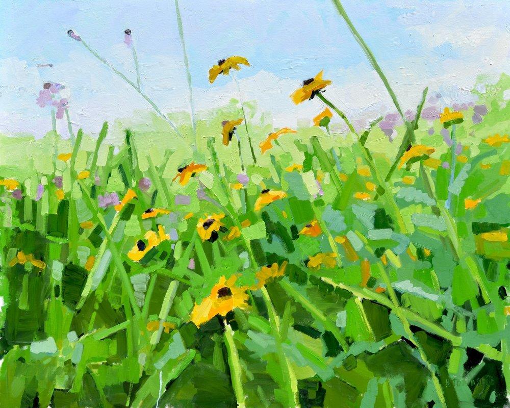 Wildflower Meadow II (With Horizon)