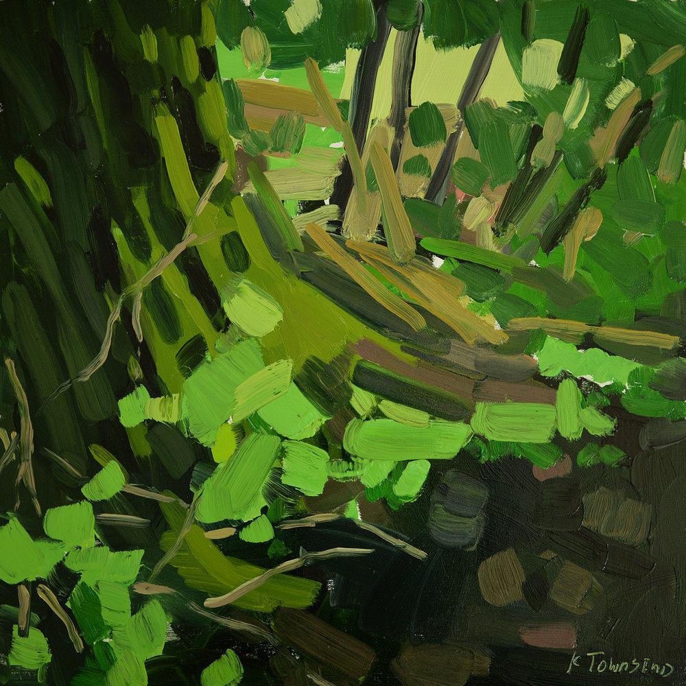 Moss and Sticks