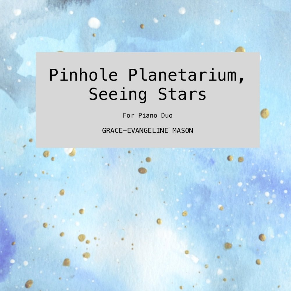 Pinhole Planetarium, Seeing Stars' (2018