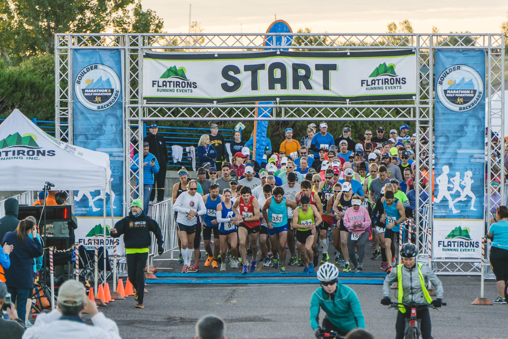 2019 Boulder Backroads - This is the 19th running of the Boulder Backroads Half Marathon. This year's race includes a Half Marathon and 10k. A Boulder Tradition for the since 1999.