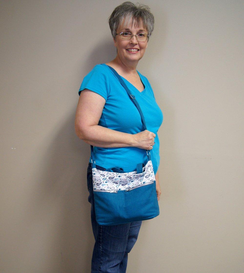 Patricia's new purse