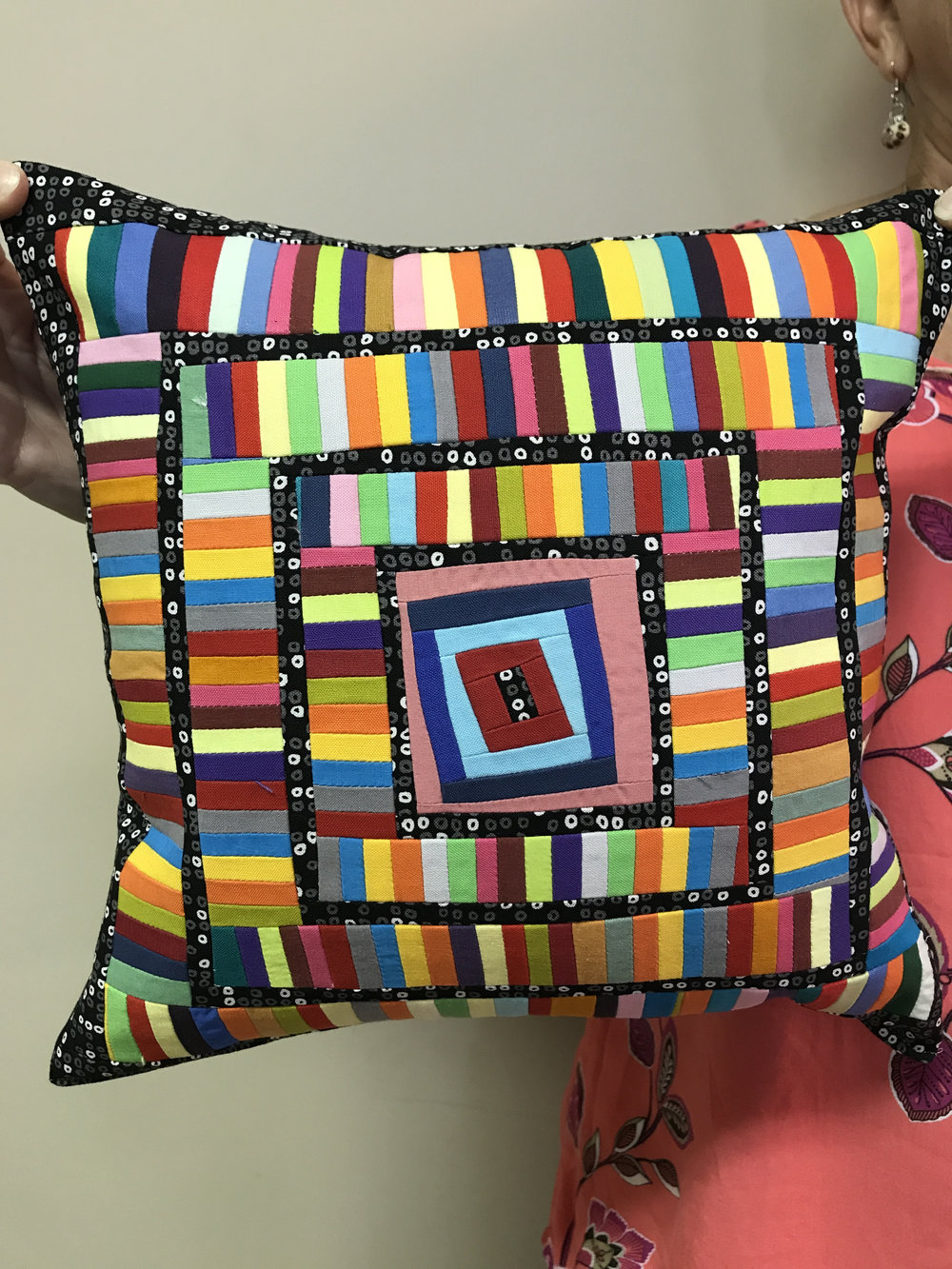 Sandi Suggs' improv pillow