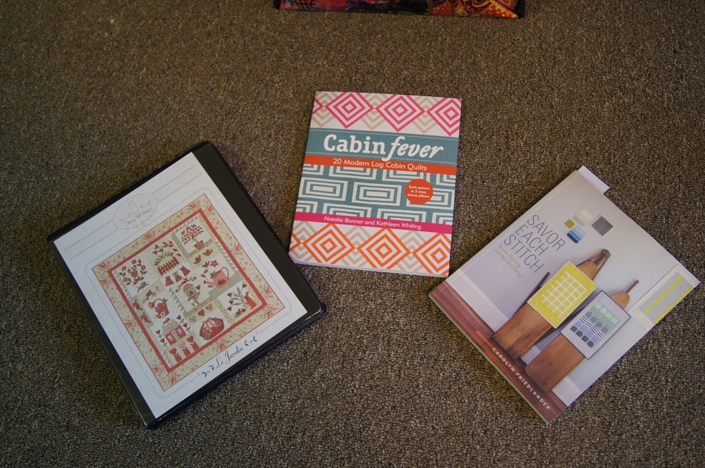 Wonderful quilting books shared by Patricia