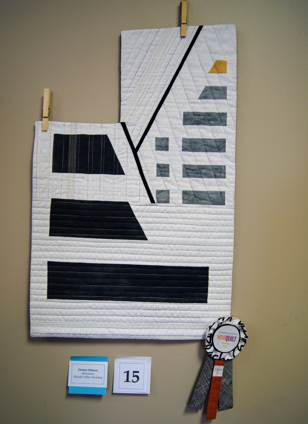 3rd place quilt by Denise Ohlman