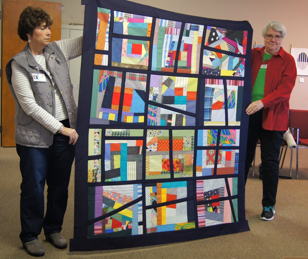 Another Habitat for Humanity quilt top