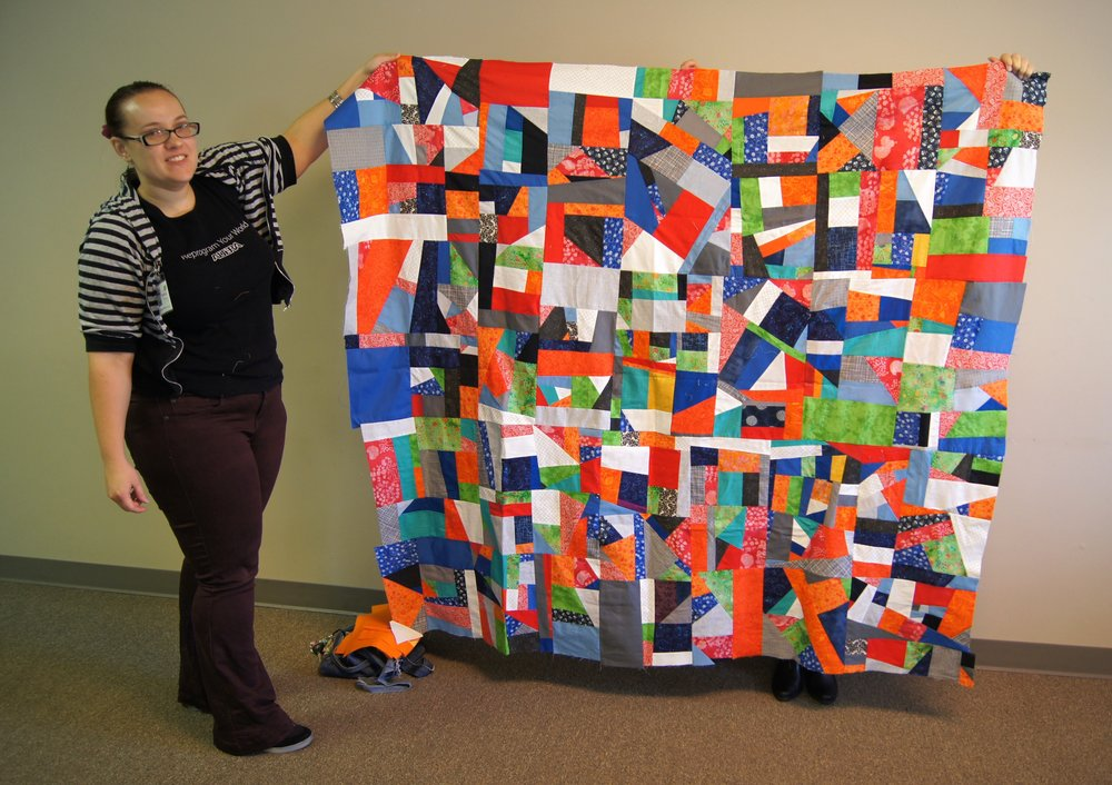 Quilt top by Stephanie Quesinberry