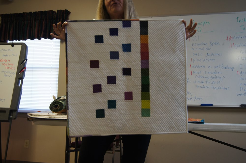 Quilt by Nancy Packard